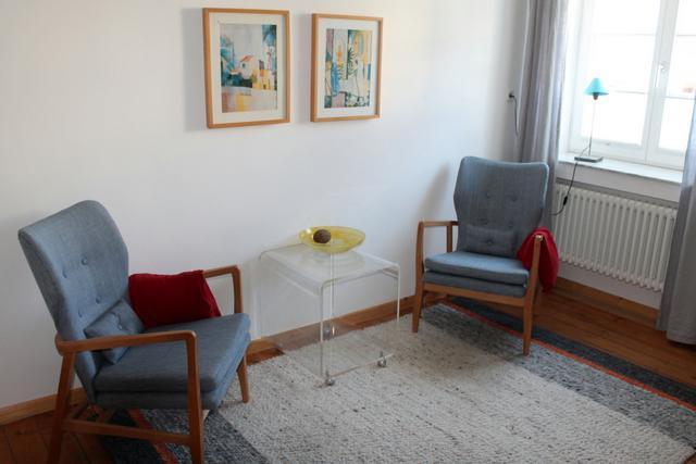 Sprechzimmer von Dr. Duscheleit, Psychotherapie in Kassel