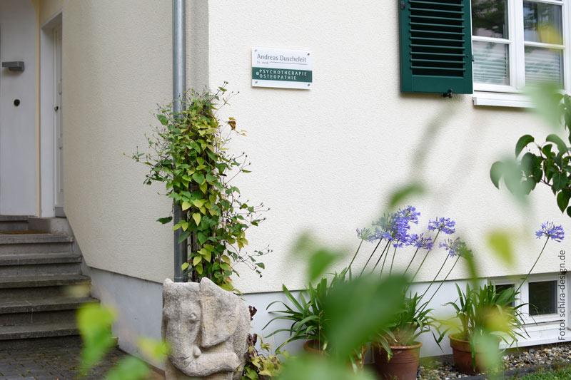 Eingang Praxis Dr. Duscheleit Kassel-Wilhelmshöhe